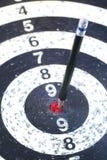Дротик стрелки карандаша цели Стоковое Изображение