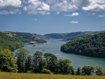 Дротик Dartmouth Девон Англия реки Стоковое фото RF