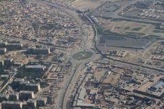Другая сторона ландшафта вида на город Кабула, Афганистан стоковые изображения rf