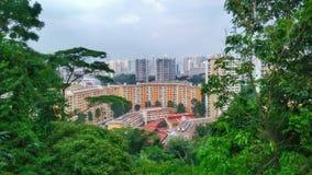 Другая сторона Сингапура Стоковые Фотографии RF