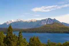 Другой взгляд Bariloche Стоковая Фотография
