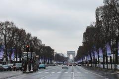 Другой день в Париже стоковое фото rf
