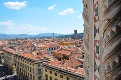 Другой панорамный взгляд города Флоренса стоковая фотография rf