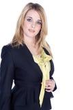 Дружелюбная бизнес-леди Стоковые Изображения