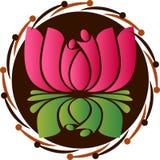 Дружелюбный логотип шестерней Стоковая Фотография RF