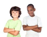 друзья детей стоковое изображение rf