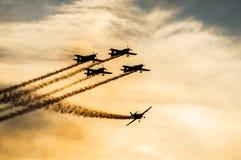 Друзья летания стоковое изображение rf