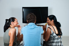 Друзья миря tv Стоковая Фотография RF