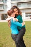 Друзья на парке Стоковая Фотография RF