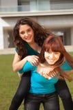 Друзья на парке Стоковое Фото