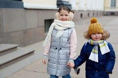 Друзья на прогулке Стоковые Фотографии RF