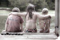 друзья немногая Стоковые Фото