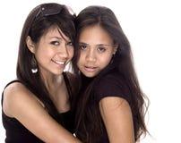 друзья предназначенные для подростков Стоковое фото RF