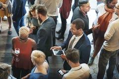 Друзья разнообразия встречая концепцию обсуждения общины Стоковое Изображение