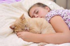 Друзья спят обоснованно Стоковое Изображение