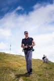 Друзья Hikers Стоковые Фотографии RF