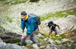 Друзья Hikers Стоковая Фотография RF