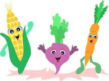 друзья vegetable Стоковое Изображение RF