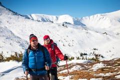 2 друз в горах Стоковые Изображения RF
