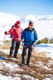2 друз в горах Стоковое Изображение