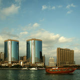 Дубай возвышается твен Стоковая Фотография RF