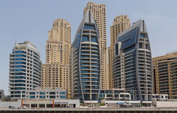 ДУБАЙ, ОАЭ - 11-ОЕ МАЯ 2016: гостиницы в Дубай Стоковое Изображение RF