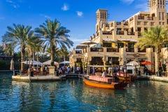 ДУБАЙ, ОАЭ - 15-ОЕ НОЯБРЯ: Взгляд Souk Madinat Jumeirah Стоковая Фотография RF