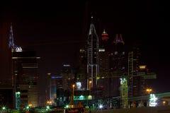 ДУБАЙ, ОАЭ 15-ОЕ ЯНВАРЯ: Небоскребы в центре города на января Стоковая Фотография RF