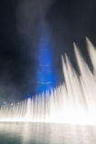Дубай празднуя хостинг экспо 2020 Стоковое Фото