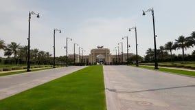 Дубай, UAE Дворец шейха Мухаммеда акции видеоматериалы
