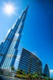 ДУБАЙ, UAE. Burj Дубай Стоковые Фото