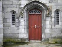 Дублин Ирландия - двери замка Дублина стоковое изображение rf