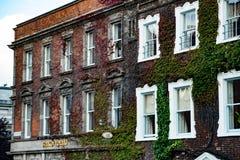ДУБЛИН, ИРЛАНДИЯ - 30-ОЕ АВГУСТА 2017: Город Дублина Ирландии Стоковое Фото