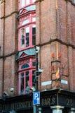 ДУБЛИН, ИРЛАНДИЯ - 31-ОЕ АВГУСТА 2017: Город Дублина Ирландии Стоковое Фото