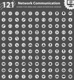 дублирование красит комплект связи включенный иконой иллюстрация вектора
