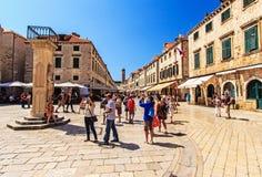 Дубровник, Далмация, Хорватия стоковое изображение