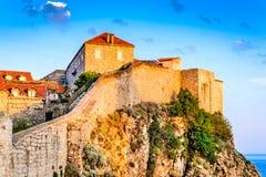 Дубровник, Далмация, Хорватия Стоковое фото RF