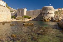 Дубровник - жемчуг Адриатического моря стоковые фото