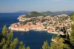 Дубровник - жемчуг Адриатического моря стоковая фотография rf