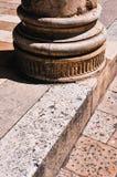 Дубровник. Основание столбца Стоковые Фото
