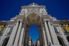 Дуга квадрата Лиссабона стоковое изображение