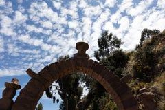 Дуга на Taquile Стоковая Фотография RF