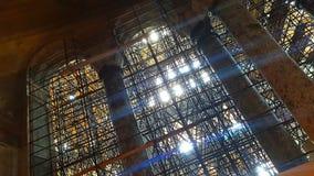 Дуги интерьера Стамбула мечети Hagia Sophia стоковая фотография rf