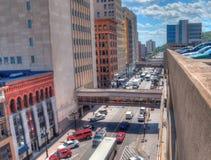Дулут популярное туристское назначение в верхнем Midwest дальше стоковые фото