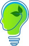 Думайте зеленый цвет Стоковое Изображение