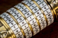 Думайте слово как пароль стоковые изображения