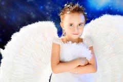 думать ангела Стоковое фото RF
