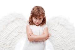 думать ангела Стоковые Изображения RF