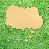 думать зеленого цвета травы пузыря Стоковые Изображения