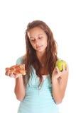 думать пиццы Стоковые Фотографии RF